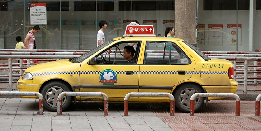 Taxi are cheap and plentiful